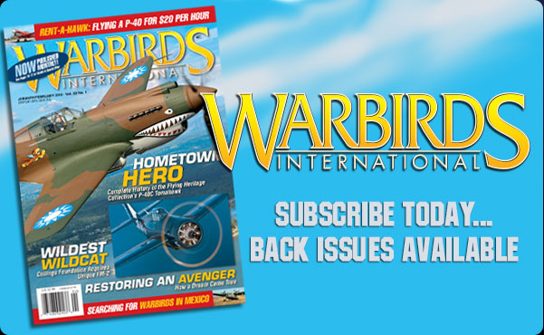 Warbirds International Magazine